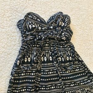 love, Fire Dresses - love, Fire Strapless Maxi Dress